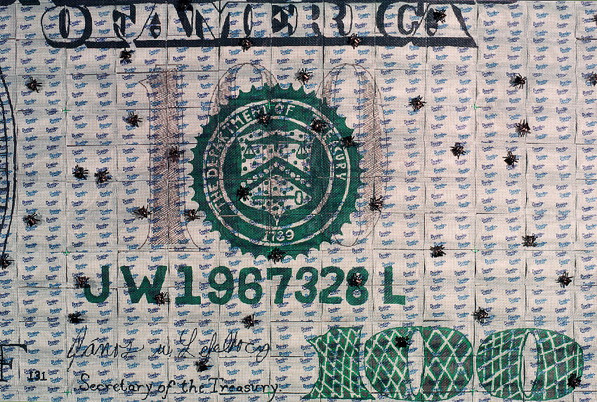 Detail of Money for Nothing by John Lefelhocz