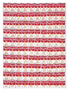 100 Cans by Andy Warhol