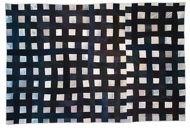 Large Stain Black Grid by Eleanor Mccain