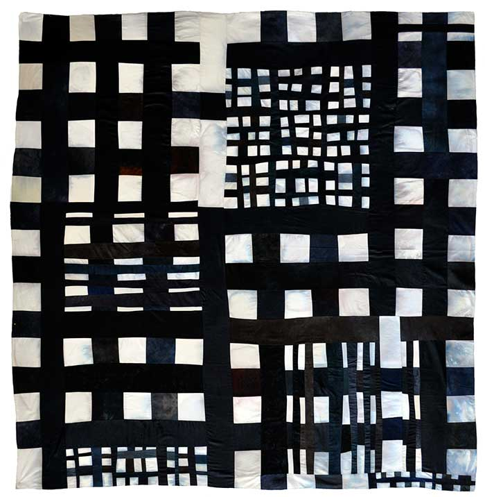 Mixed Grid Stain Variation by Eleanor McCain