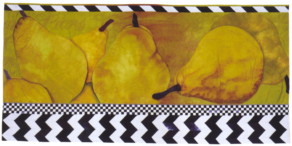 Six Pears by Velda Newman