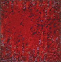 Opus in Red by Joy Saville
